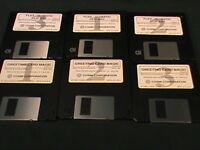Flex-O-Matic Clip Art~Greeting Card Magic~Cosmi Corp Disk Diskettes Win 3.1