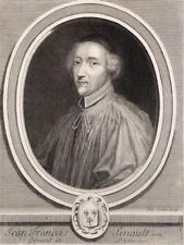 Burin de LUBIN,  Portrait de Jean François Senault