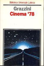 GRAZZINI Giovanni - Cinema '78