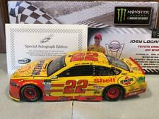 2017 Action Joey Logano Shell Pennzoil Richmond Win 1/24 Autographed 1 of 144