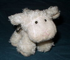 Fluffy Lamb Keyring - key ring and soft toy in one!