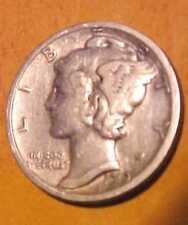 1919-D Mercury Dime ~Sharper Gem Circulated ~Scarce Date ~4th Year ☆Make Offer☆