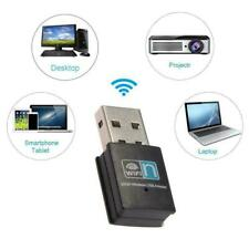 USB Wifi Adapter Dongle 300Mbps Wireless Lan Internet for Desktop PC Laptop US