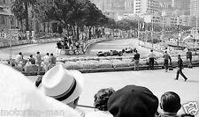 MONACO GRAND PRIX 1966 JIM CLARK LOTUS PHOTOGRAPH FOTO