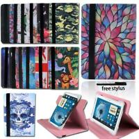 For Samsung Galaxy Tab A 7.0 8.0 Tablet Folio Leather Rotating Stand Cover Case