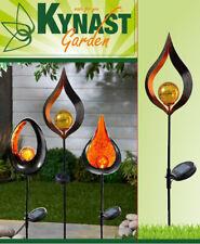 LED Solar Skulptur Gartenlampe Gartenlicht Erdspieß Sensor Deko Leuchte 93cm