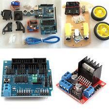 For Arduino Avoidance Tracking Motor Smart Robot Car Chassis Kit 2WD Ultrasonic