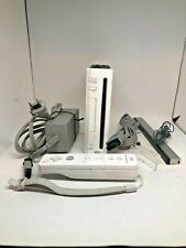 Nintendo Wii Console Bundle - White - Bundle TESTED Game cube compatible