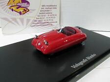 """Autocult 03005 # Volugrafo BIMBO Cabrio anno di costruzione 1946 in rosso"""""""" 1:43 NUOVO"""