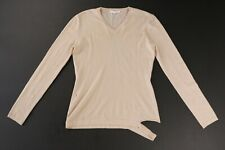 Helmut Lang Vintage Archive Distressed Tan Wool Sweater EU 44 Italy