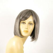 perruque femme 100% cheveux naturel grise ref MYLENE 44