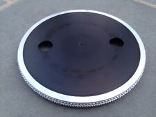 COLLECTORS EXAMPLE: Aluminum Platter for Sony PS-X5 PS-X6 & PS-X7 Turntables