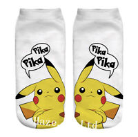 Anime Small Elf Character Sock Chaussettes Monstres de poche
