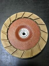 """EdgeMaxx 7"""" Coarse Ceramic Cup Wheel Replacement by SASE for Concrete Polishing"""