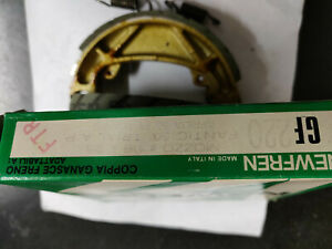 COPPIA GANASCE FRENO NEWFREN GF0220 MOZZO Ø 118x25 FANTIC TRIAL APRILIA ET 50