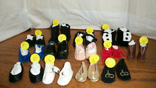 13 PR. OF SHOES FOR  1950'S  MADAME ALEXANDER EFFANBEE ARRANBEE AMERICAN CHAR.