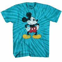 Mickey Mouse Tones Classic Vintage Adult Tee Graphic T-Shirt for Men Tshirt