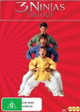 3 Ninjas (DVD, 2018, 3-Disc Set)