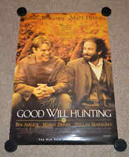 Good Will Hunting Movie Poster Signed Autographed Matt Damon 27x39 Mint!