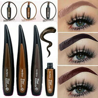 Easy Peel Off Eyebrow Tattoo Liquid Gel Waterproof 3 Colors Brow Tint Gel Makeup