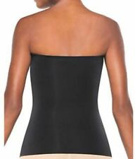NEW WITH SHOP TAGS  SPANX Thinstincts Trust Your Strapless Top Black Size LARGE
