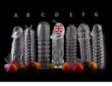 Condom, Full Choice Penis Sleeve Extender Erection Enhancer Impotence Aid, UK
