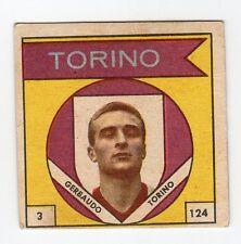 figurina CALCIATORI VAV 1960 numero 3/124 TORINO GERBAUDO