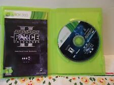 Xbox 360 Star Wars II The Force Unleashed Game Complete Used Very Good