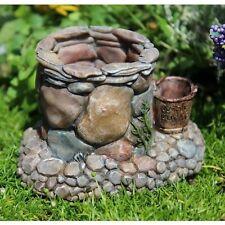 * Stoneybend Wishing Well * Miniature Fairy Garden Dollhouse Furniture NIB
