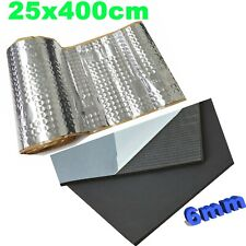 Dämmungsset Dämmmaterial | Alubutyl 25x400cm | DSM 6mm | SET