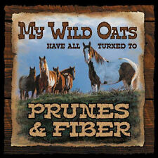 Wild Wings - My Wild Oats Horse Wood Sign