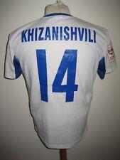 Inter Baku MATCH WORN Azerbaijan football shirt soccer jersey maillot size S