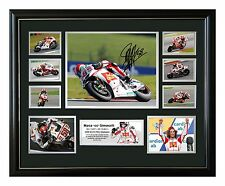 MARCO SIMONCELLI SIGNED LIMITED EDITION FRAMED MEMORABILIA