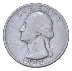RARE Key Date - 1932-D Washington Quarter - First Year - TOUGH *332