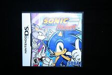 CASE ONLY Sonic Rush Nintendo DS with Booklet NO GAME