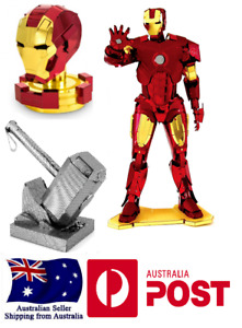 Iron Man/ Thor Hammer Metal 3D Laser Cut DIY Avenger Model Puzzle Kit