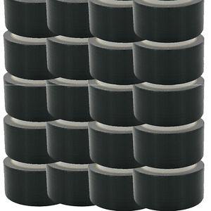 New Super Strong BLACK Duck Duct Gaffa Gaffer Waterproof Cloth Tape 48mmx 50m..