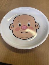 Ceramic Fred Plays With His Food Plate by Jason Amendolara Baby Boy