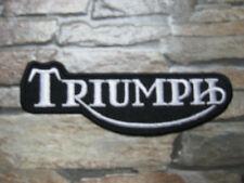 Aufnäher Patch Motorradcross Triumph Race Tuning Racing Motorradsport Biker GT