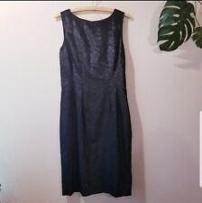 Domenico Vacca Embossed Velvet Dress