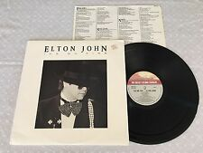 ELTON JOHN ICE ON FIRE + INNER 1985 AUSTRALIAN PRESS LP