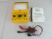Simpson Electric 260 Series 8 Xpi Analog Multimeter As Is For Parts Repair
