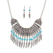Fashion Women Chain Statement Collar Bib Pendant Chunky Necklace Jewelry