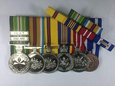 Australian Active Service Medal ICAT Iraq 2003 DLSM ADM NATO Medal ISAF
