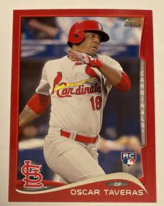 Oscar Taveras 2014 Topps Update US175 Target Red Border SP Rookie RC Cardinals