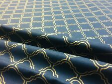 BR130 Stunning Champagne Damask Curtain Fabric// Material New
