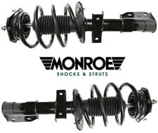 2 Suspension Strut and Coil Spring Assembly MONROE Front L & R Gas Charged