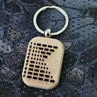 Morsecode Morsen Survival Bushcraft EDC Dog Tag SOS Signal Schlüsselanhänger Tac