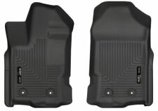 2019 Ford Ranger Husky Liners WeatherBeater Front Floor Mats Black 2pc NEW 13411