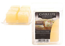 Candle-Lite Wax Melt Packs For Use with Melt Tart & Oil Burners Creamy Vanilla S